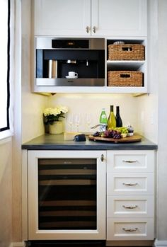 This is exactly what I want in my kitchen where the built in desk is.  I love it!!