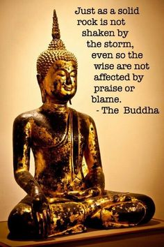 Wise words from Budda