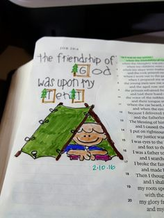 Bible journaling job 29