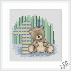 Teddy Bruno - Cross Stitch Kits by Luca-S - B1087