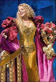 "Renee Fleming performs at Metropolitan Opera/ John Cox Production of ""Thais"""