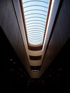 Interior view, Marin County Civic Center.
