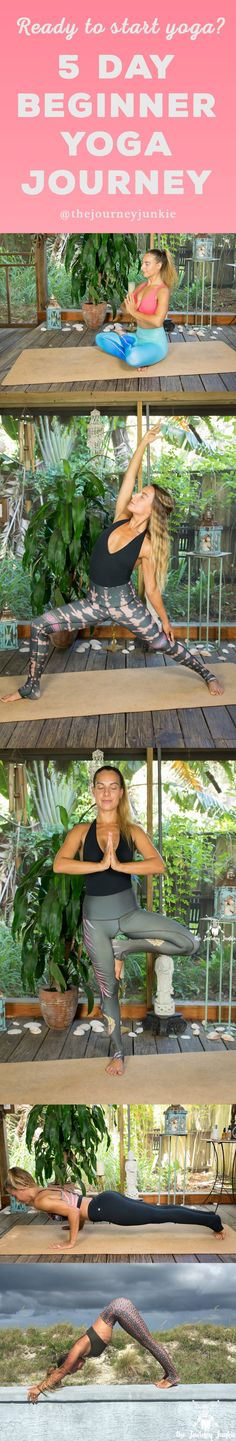 Do you want to start yoga, but don't know how? Join me for a 5 day yoga journey that will teach you the basics, how to connect breath with movement, and leave you feeling ready to begin your yoga journey! Click here and let's get started babes!