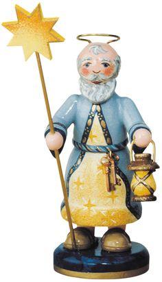 Engel Petrus (11cm) von Hubrig Volkskunst