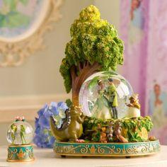 Disney Princess and the Frog Snowglobe Set