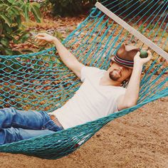 I'd love to be in that hammock!
