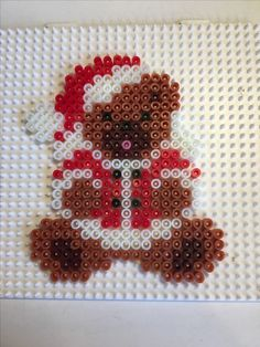 In this DIY tutorial, we will show you how to make Christmas decorations for your home. The video consists of 23 Christmas craft ideas. Perler Bead Templates, Diy Perler Beads, Perler Bead Art, Pearler Beads, Melty Bead Patterns, Hama Beads Patterns, Beading Patterns, Christmas Perler Beads, Hama Beads Design