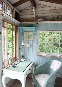 50 spectacular designs that will make you want to own a she-shed   Stylist