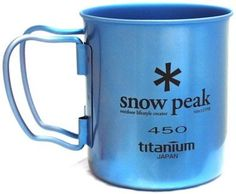 """Camping Kitchen :""""Snow Peak Men's Single Wall 450 Mug : Green : One Size"""" -- Discover this special product, click the image"""
