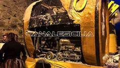 Sant'Angelo - Carro si incendia durante la sfilata - http://www.canalesicilia.it/santangelo-carro-si-incendia-la-sfilata/ Carnevale 2017, incendio, News, Sant'Angelo di Brolo