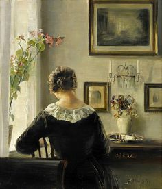 View Woman reading by the window by Carl Vilhelm Holsøe on artnet. Browse upcoming and past auction lots by Carl Vilhelm Holsøe. Russian Painting, Figure Painting, Reading Art, Woman Reading, Amber Tree, Cottage Art, Antique Pictures, Renaissance Paintings, European Paintings