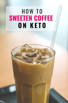 For starters, the big thing for keto diet beginners is learning how to sweeten coffee on keto and any beverage for that matter. My go-to sweetener is liquid, you can add it to hot or cold drinks, mixes well and has no chemically aftertaste like most of th Low Carb Coffee Creamer, Coffee Creamer Recipe, Keto Coffee Recipe, Homemade Coffee Creamer, Keto Foods, Keto Snacks, Us Foods, Vegan Keto, Coffee Recipes