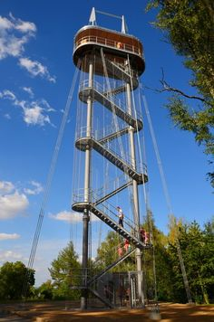 Lookout Tower, Tower House, Treehouse, Czech Republic, Prague, Tiny House, Travelling, Places To Go, Trips