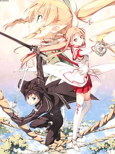 SAO yay!!! I love all the anime thats in right now!!!