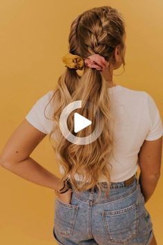 Add some color to your hairdo with these fun hair scrunchies! Featuring bold bright colors, you can pair these with almost any outfit you choose. Shop these scrunchies and more on our online clothing boutique! Cute Hairstyles For Medium Hair, Easy Hairstyles For School, Braided Hairstyles Tutorials, Easy Hairstyles For Long Hair, Braids For Short Hair, Cute Hairstyles For Short Hair, Fine Hairstyles, Short Hair Styles Easy, Medium Hair Styles