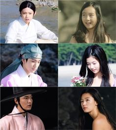 "Production house Studio Dragon released stills of the actors who will play younger versions of Lee Min-ho and Jun Ji-hyun in the upcoming SBS drama ""Legend of the Blue Seas,"" Thursday. Legend Of The Blue Sea Kdrama, Legend Of Blue Sea, Legend Of The Blue Sea Poster, Korean Drama Movies, Korean Actors, Korean Dramas, Jinyoung, Drama News, Good Morning Call"
