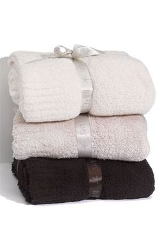 Barefoot Dreams® 'Chic' Blanket available at #Nordstrom  You can never have too many blankets!