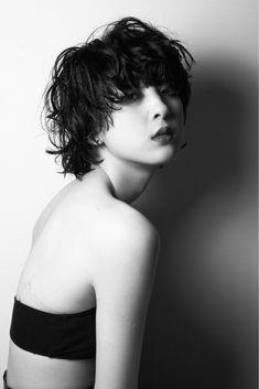 Medium Hair Styles, Natural Hair Styles, Short Hair Styles, Permed Hairstyles, Hairstyles With Bangs, Japanese Short Hair, Short Punk Hair, Mullet Hairstyle, Grunge Hair