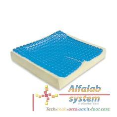 CUSCINO GELSIT ANTIDECUPITO IN GEL Codice  GELSIT - 175,00 € - Prodotto  Nuovo Cuscino Gelsit antidecubito in gel di poliuretano. Rivestimento in 3space, lavabile fino a 40° C in lavatrice. Dimensioni: cm. 43,5x40,5x6,5h. E' costituito da una parte in poliuretano a lenta memoria e ricoperto nella parte superiore da una serie di celle in gel che si adattano ergonomicamente al paziente.