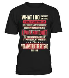 Yoga Instructor Ryt 200 - What I Do