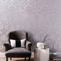 Oxford Silver / Grey | Graham & Brown