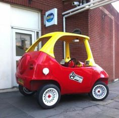 This is very interesting but more for the fact that sales go to a terrific childhood cause: Not your kids' Cozy Coupe
