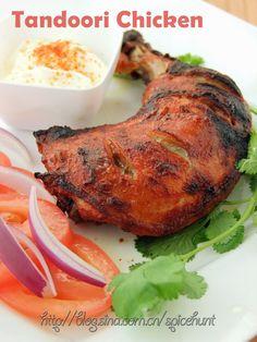 A taste of memories -- Echo's Kitchen: Oven Baked Tandoori Chicken