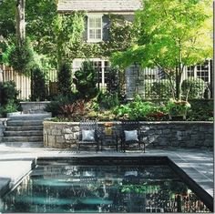 Things That Inspire: Outdoor design elements: bluestone