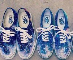 Vans galaxie ♥