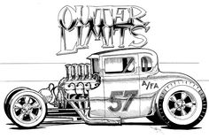 Rat Fink Style Art | Rat Fink, Tiki, Car and Monster Art ** COOL!!!