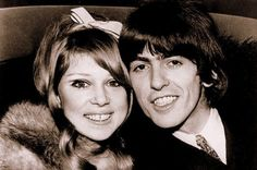 George Harrison and Pattie Boyd on their wedding day, January 21st 1966