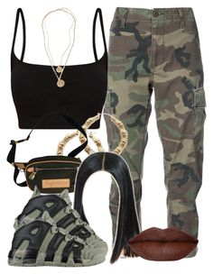 """4/4/18"" by jasmineharper ❤ liked on Polyvore featuring RE/DONE, Forever 21, NIKE and BP."