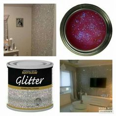 Epic 101 Best Glitter Wall Ideas https://decoratio.co/2017/05/101-best-glitter-wall-ideas/ Otherwise, you receive all varieties and shapes on the market. The color and quantity of sparkle is ideal. Hang it up whenever the glitter dries.