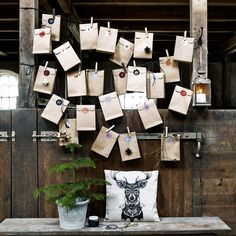 Advent calendar paper bags from Nordal - Image 4 - Holiday - Buvizyon Christmas Store, Diy Christmas Tree, Christmas Is Coming, Christmas Holidays, Advent Calenders, Diy Advent Calendar, Christmas Calendar, Hannukah, Christmas Activities