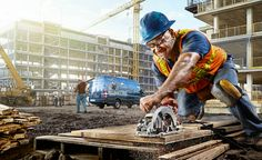 rugged construction/worksite photography - HDR, vivid - www.timtadder.com/