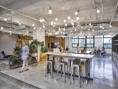 Gensler has designed the new offices of e-commerce company Etsy, located in Brooklyn, New York City.