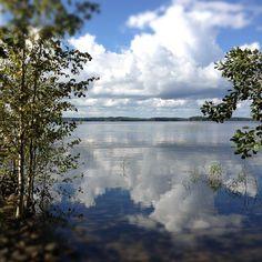 Suloinen suomalainen järvimaisema | Fanni ja kaneli