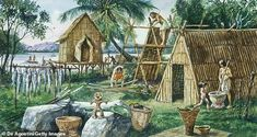 The Neolithic Revolution, also called the Agricultural Revolution, marked the transition in human history from small, nomadic bands of hunter-gatherers to Agriculture Pictures, Jomon Period, Agricultural Revolution, Japan Illustration, Hunter Gatherer, Asian History, British History, Mystery Of History, Stone Age