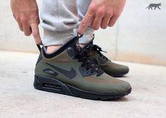 【9月発売予定】ナイキ エアマックス 90 MID ウィンター 'ダークローデン' (806808-300) - PoLolife & Sneaker