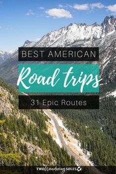 Best USA Road Trips: Get behind the wheel and explore the 31 Best American Road Trips # Adventure Travel Road Trips 31 Best USA Road Trips Road Trip Packing, Us Road Trip, Road Trip Essentials, Family Road Trips, Road Trip Hacks, Family Travel, Best Road Trips, Plan A Road Trip, Family Vacations