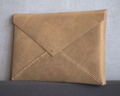 leather envelope for Macbook 13