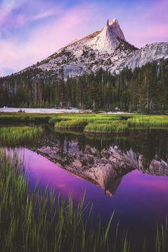 Cathedral Peak, Yosemite National Park, California