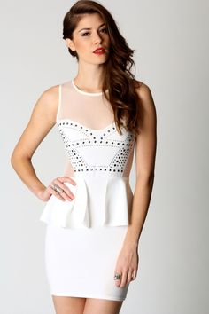 Faye Studded Corset Dress