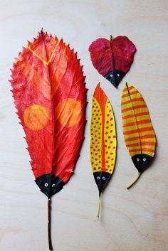 Make Leaf Bugs!