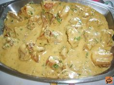 Creamy Mustard Sauce, Creamy Sauce, Shortbread, Food Porn, Queso Fresco, Comfort Food, Cheeseburger Chowder, Potato Salad, Pork