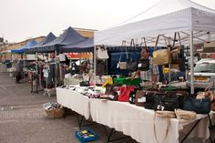Handbags on sale at Melksham market
