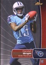 2012 Finest #118 Kendall Wright RC by Finest. $4.48. 2012 Topps Co. trading card in near mint/mint condition, authenticated by Seller