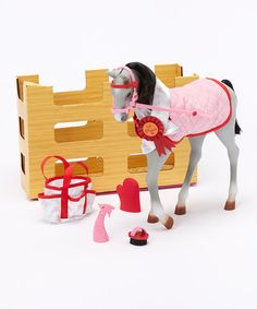Look what I found on #zulily! Lipizzaner Foal Set by Our Generation #zulilyfinds