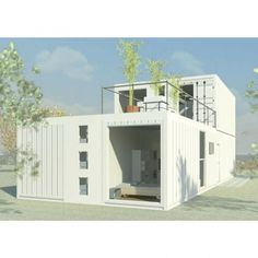 CDB2016 SHIPPING CONTAINER HOME Cargo Container Homes, Building A Container Home, Container Cabin, Container House Design, Container Store, Container Architecture, Container Buildings, Sustainable Architecture, Shipping Container Design