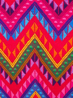 Colorfull Handicrafted eclectic textiles ~ Guatamala